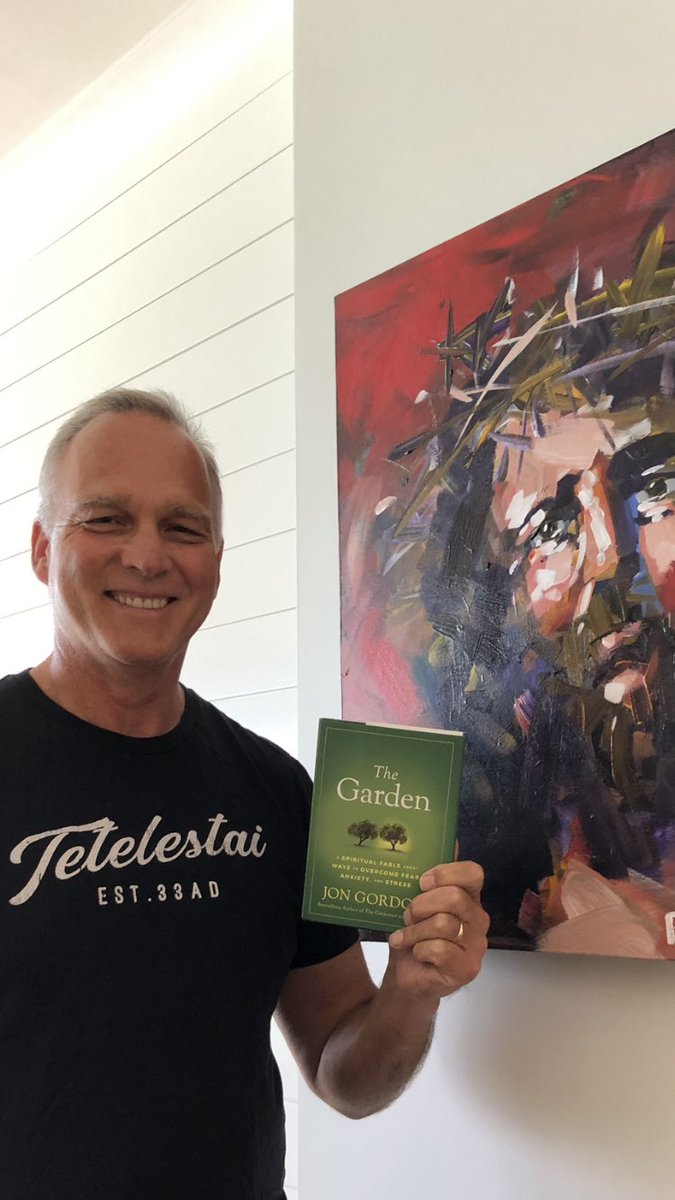 Fired up about my new book by Jon Gordon, The Garden.