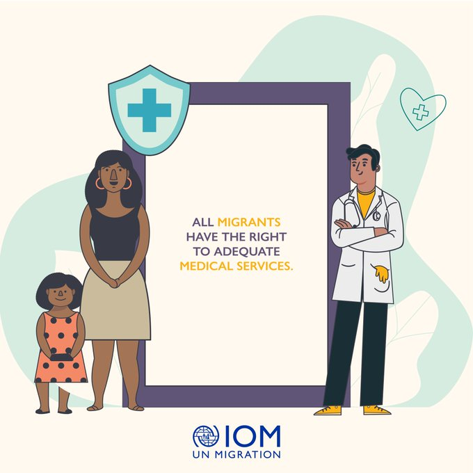 All migrants should be able to access health services without facing discrimination. @UNMigration works to ensure migrants everywhere are included in #COVID19 responses & their basic rights are protected. iom.int/covid19