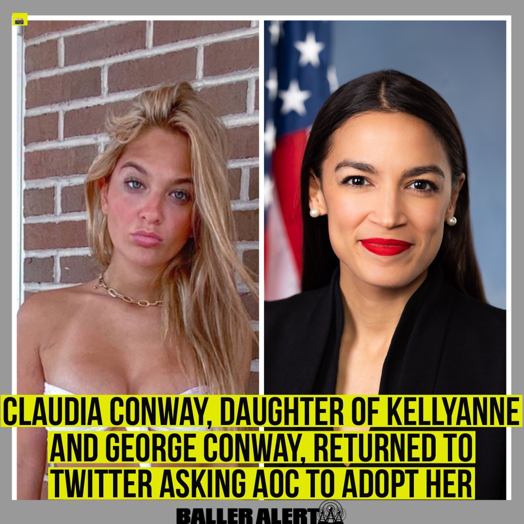 Balleralert على تويتر Claudia Conway The 15 Year Old Daughter Of Kellyanne And George Conway Made Her Return To Twitter Wednesday Complete With Sharp Jabs At Trump Compelling Her Audience To Vote And Jokingly