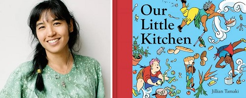 test Twitter Media - Pull up a seat at the table for our Virtual Book Tour with Jillian Tamaki. The author/illustrator joins us to talk about the inspiration for her latest picture book, Our Little Kitchen. Visit our blog for an author recording, activities, and more! https://t.co/WPQ8CaYyEM https://t.co/yRLLHQkmJD