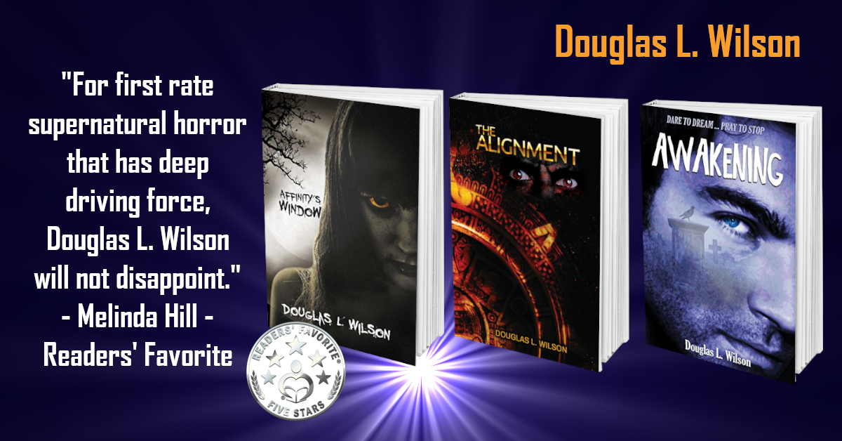'Superb supernatural thrillers!' 'Must reads for any fans of the genre!'  https://amazon.com/Affinitys-Window-Douglas-Wilson-ebook/dp/B01MRWG6KG/…… https://amazon.com/Awakening-Affinitys-Douglas-L-Wilson-ebook/dp/B07C29SBGL/…… https://amazon.com/Alignment-Douglas-Wilson-ebook/dp/B089WM9BYM/……  #supernatural #thriller #horror #suspense #IARTG #ghosts #ghoststories #books #vampires #paranormal #BookBoost #thursdayvibespic.twitter.com/nO7gNm6W9Q