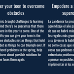 Image for the Tweet beginning: Empower your teen to overcome