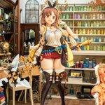 Image for the Tweet beginning: $26,000 Life-Size Atelier Ryza Figure