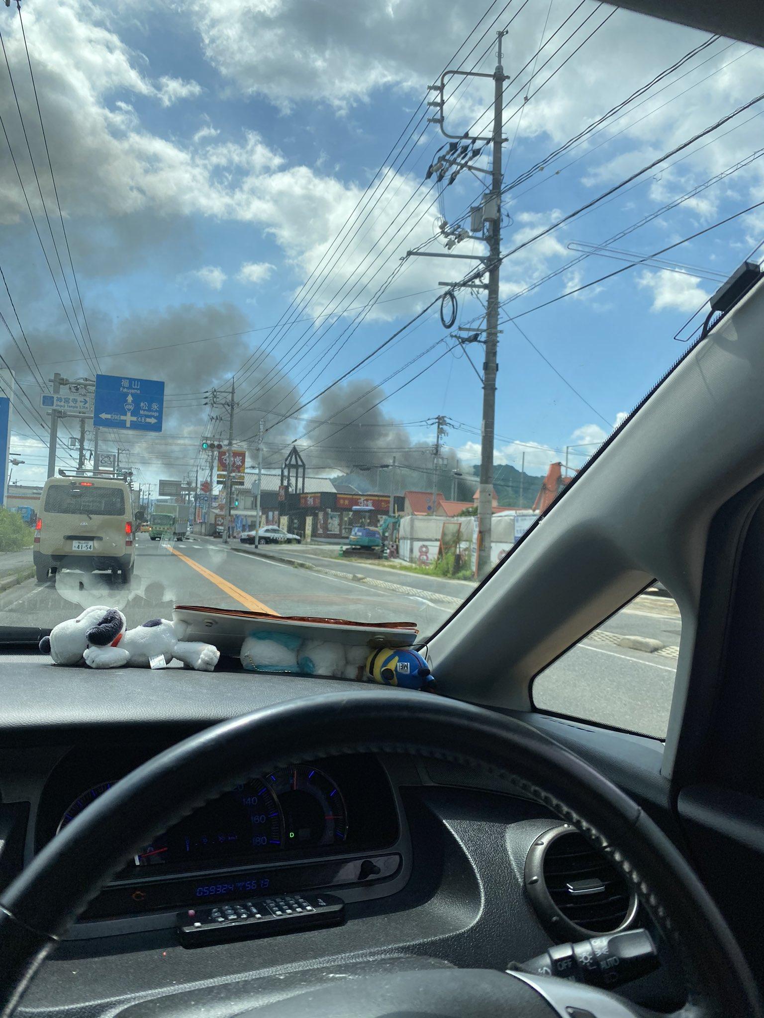 画像,えっ、火事やん大丈夫なんかな😰 https://t.co/Xu49aBePIw。