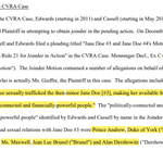 The Ghislaine Maxwell (Epstein) documents have been unsealed.  Will be posting excerpts here -    Starting with allegations of minor being trafficked to Maxwell, Prince Andrew, and Alan Dershowitz (as prev. alleged).  Thread.