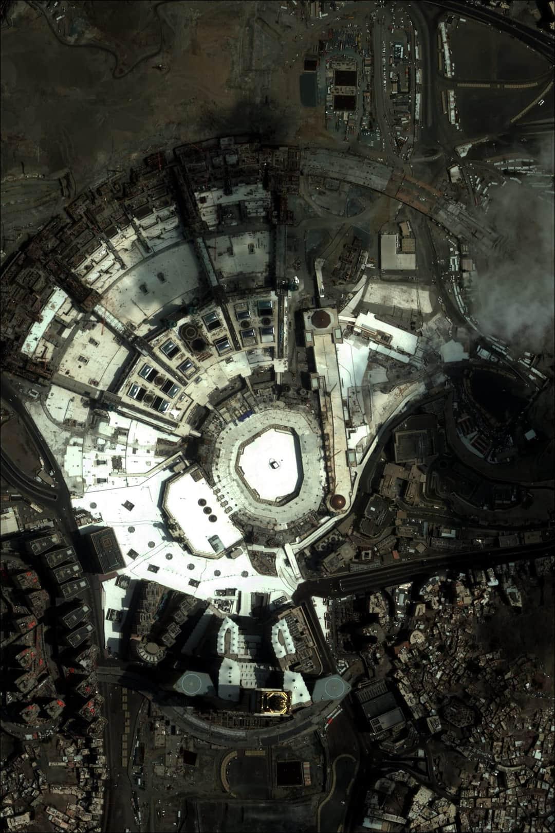 Foto satelit Masjidil Haram