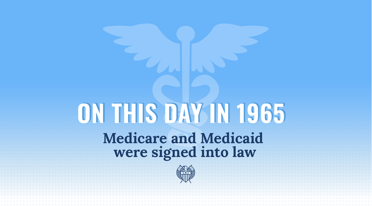 Medicare and Medicaid turn 55 today, but with Trump's attempts to gut them…they might not make it to 56. This would jeopardize millions of Americans' health and well-being. The cost of losing #Medicare and #Medicaid is too great—it's up to us to protect them. #SaveOurCare