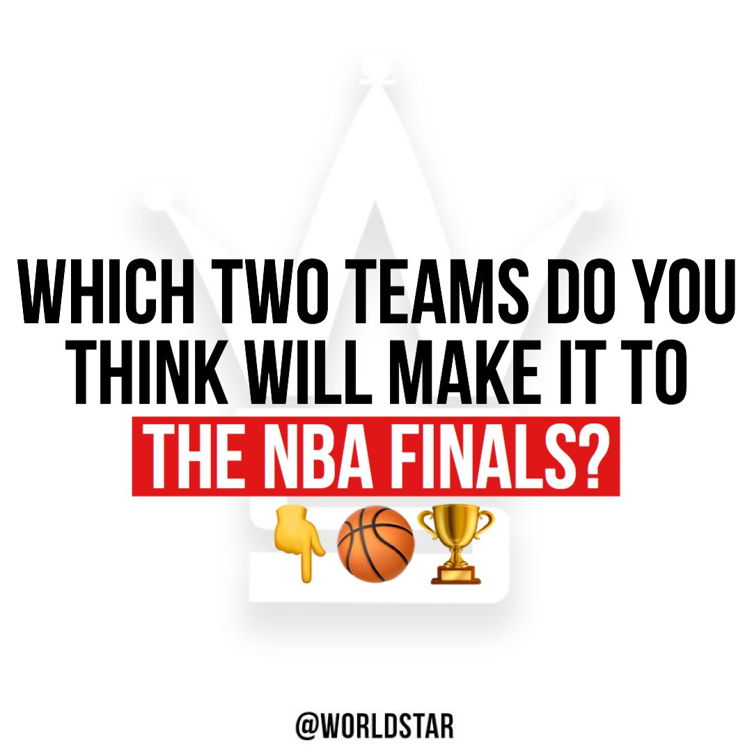 The #NBA is back tonight! Which two teams do you think will make it to The Finals?! 👇🏀🏆