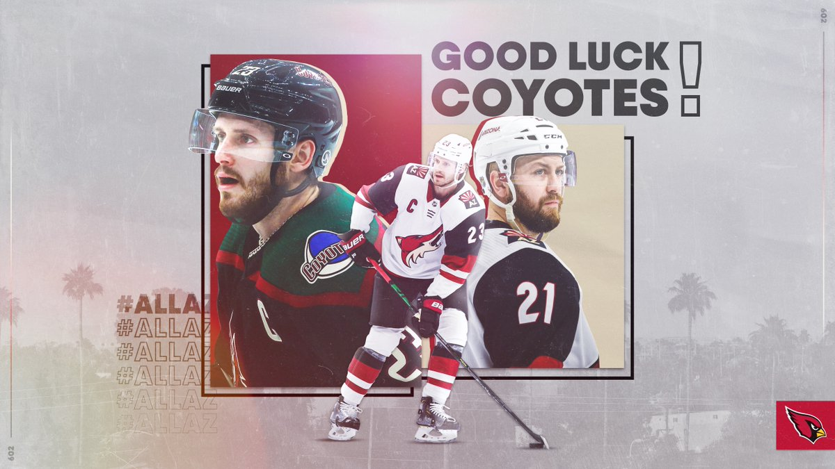 #HowlYeah. Hockey is back. Good luck in the #StanleyCup Qualifiers, @ArizonaCoyotes! #AllAZ