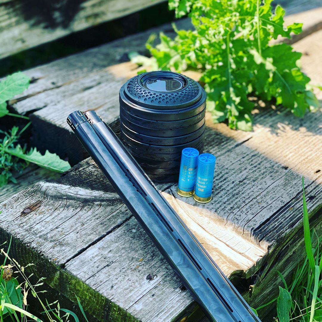 The shades of black!  Beaütiful capture by Garrett Mitchell  via instagram u/deadpair_mn   • • • #sportingclays #nsca #breakingclays  #müllerchokespic.twitter.com/r3v5D6qBLB
