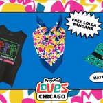 Image for the Tweet beginning: Tuning into @Lollapalooza? Spend $20+