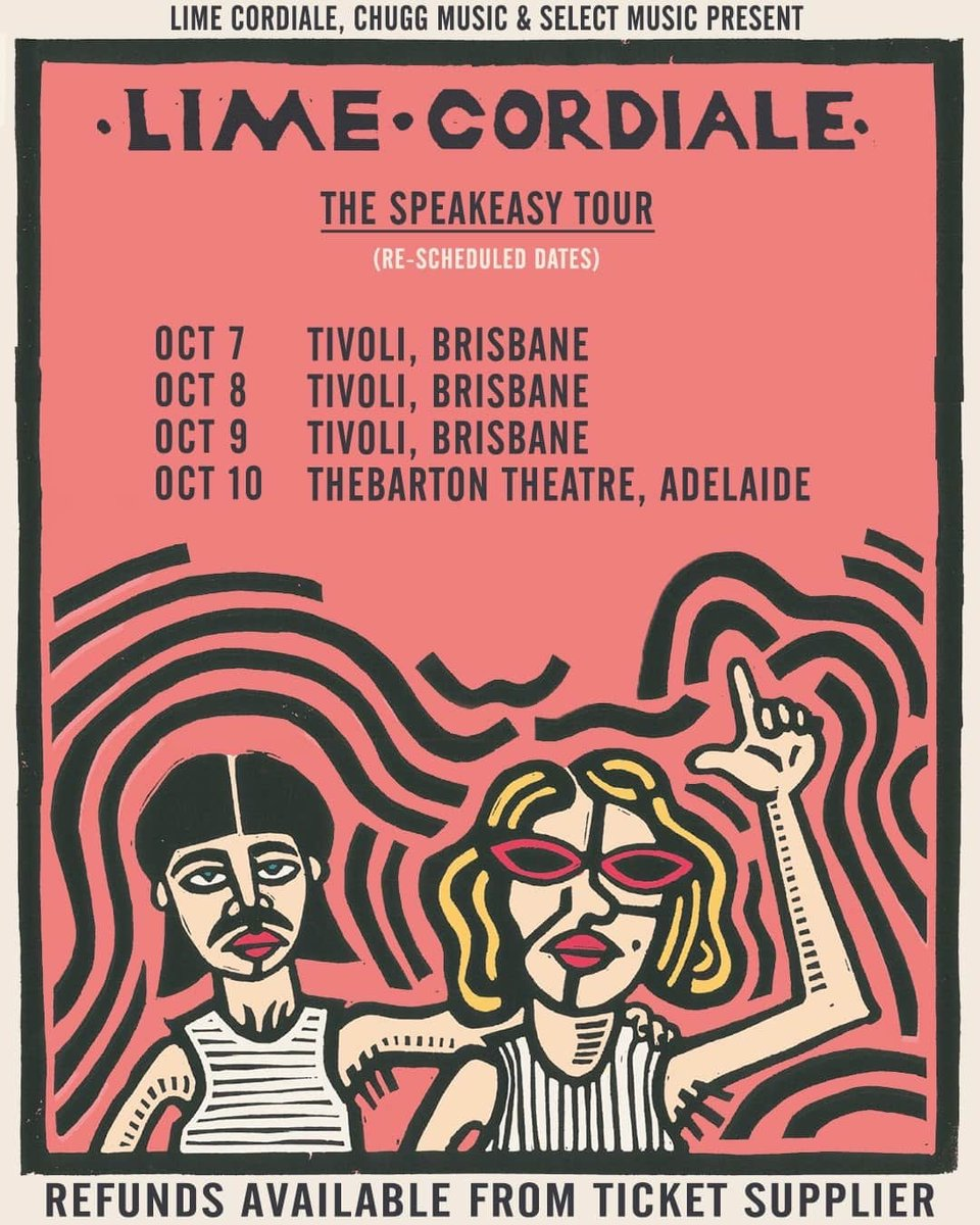 We've had to reschedule Brisbane and Adelaide for obvious reasons. Be good, stay safe and we'll be with you shortly! https://t.co/8BDEfBhwVh