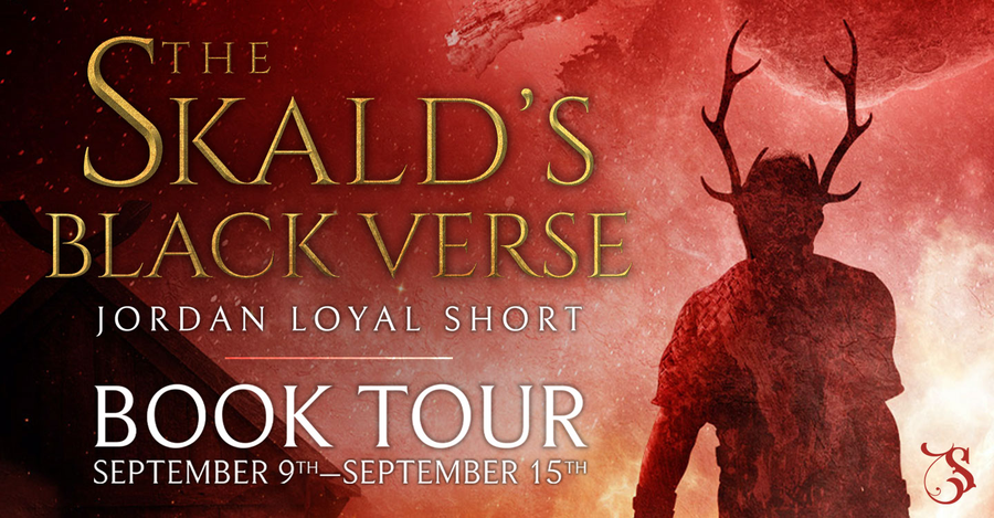 The Skald's Black Verse by Jordan Loyal Short banner