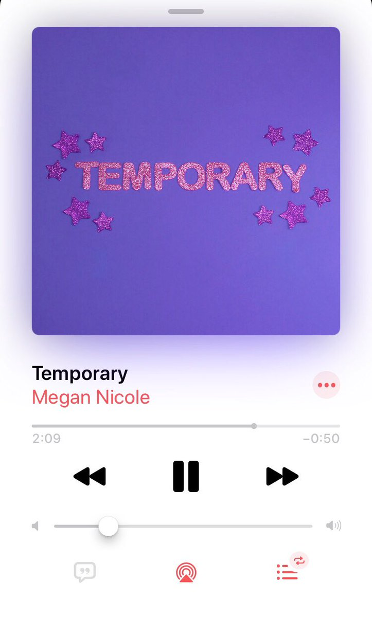 @megannicole I really love your new song!! It will be on repeat 💕💕 https://t.co/9edwtdy89x