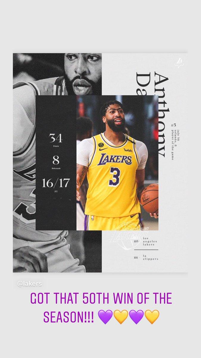 Lake show got it done tonight!! #LakersNation pic.twitter.com/XIoCfyAZOP