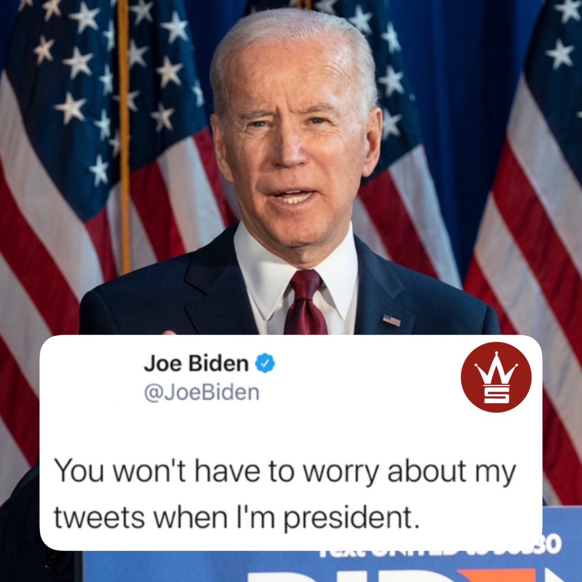 #JoeBiden had this to say earlier today...👀