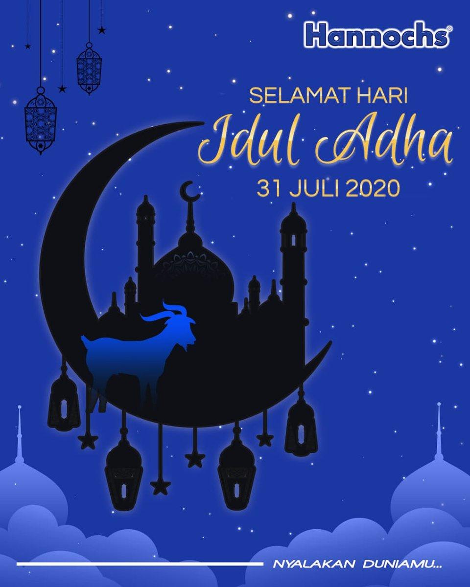 Kami segenap keluarga Hannochs mengucapkan Selamat Hari Raya Idul Adha, 31 Juli 2020.  . Hannochs Nyalakan DuniaMu~~ . #Hannochs  #NyalakanDuniaMu #HariRayaIdulAdha