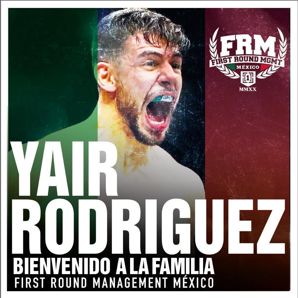 Proud to announce the signing of Mexico's biggest male mma Star @panteraufc by @FirstRoundMgmt #mexico division. Welcome to the team and lets work! https://t.co/E1Z17A0GAW
