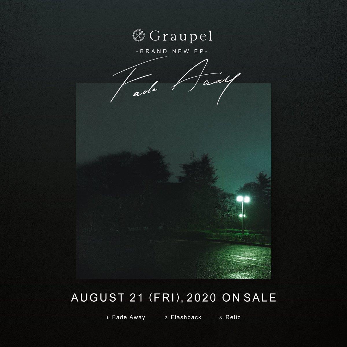"""【NEWS】8/21(金)発売の新作EP """"Fade Away""""の予約受付がiTunesにて開始しました。本日リリースしたリードトラックのFade Away以外にも面白い楽曲が多いのでこの機会に是非。iTunes:CD:"""