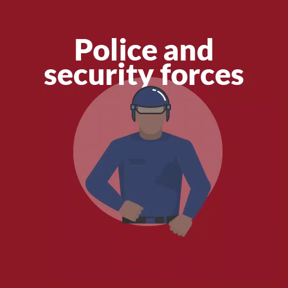 Theres a limit to how much force and what weapons police can use to keep the peace.