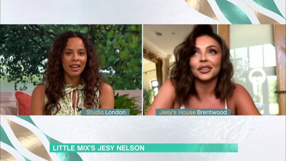 To not be with them for this long has been horrible! Jesy Nelsons really been missing her @LittleMix bandmates in lockdown. #ThisMorning Watch 👉 bit.ly/3f50AZ4