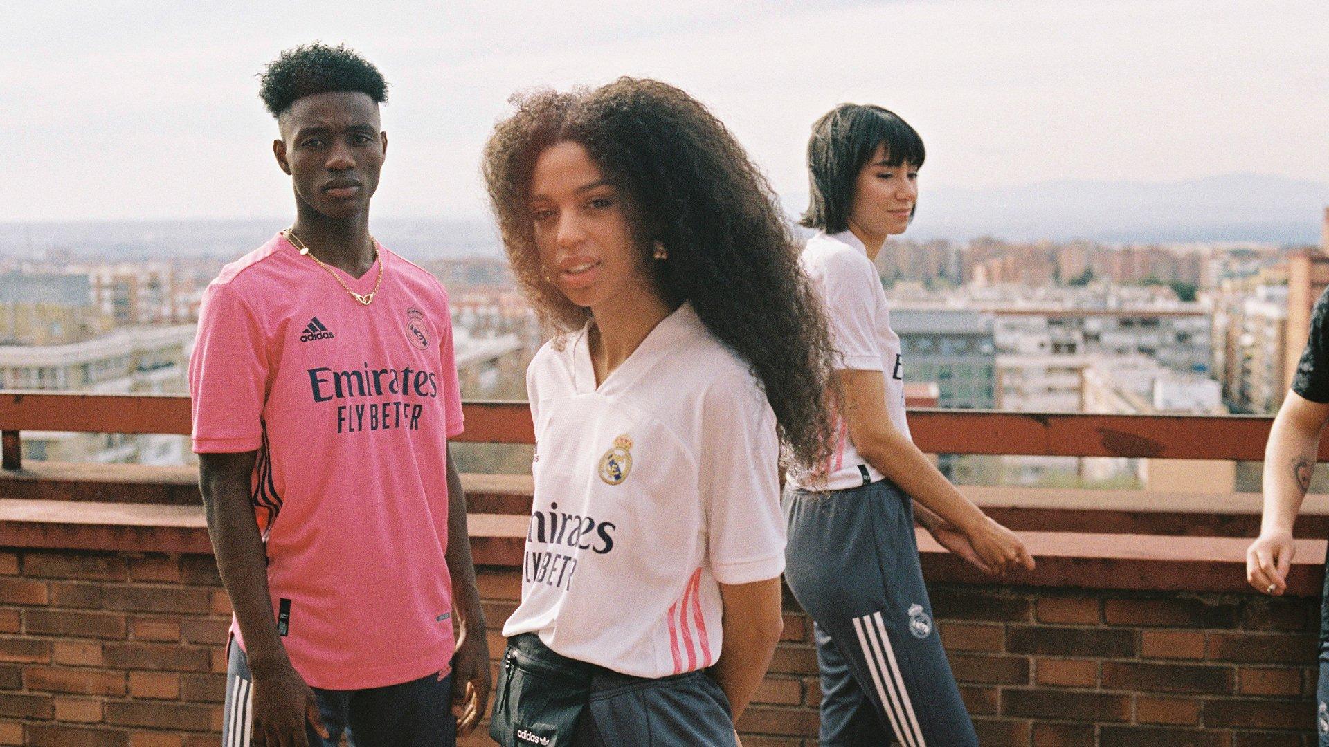 Camiseta suplente Real Madrid 2020