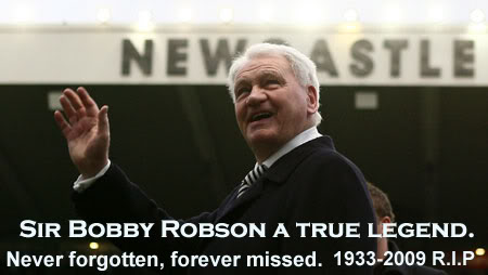 Remembering Sir Bobby Robson a Legend of the game who passed away on this day in 2009
