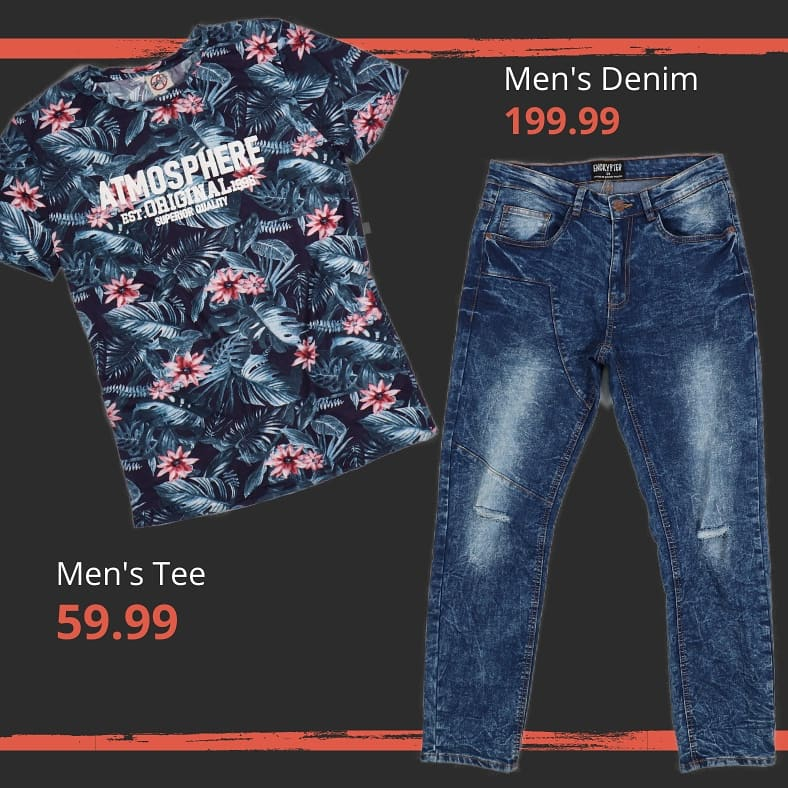 Looking good has never been this easy... Men's Graphic Tees 59.99 Men's Styled Denim 199.99 #wearchoice #choiceclothing