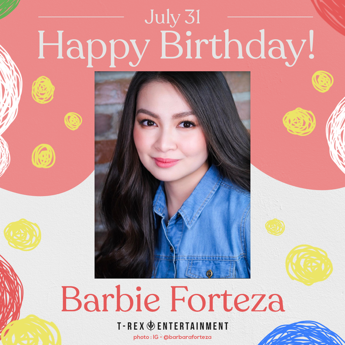 Happy 23rd birthday, Barbie Forteza  We hope all your birthday wishes come true.