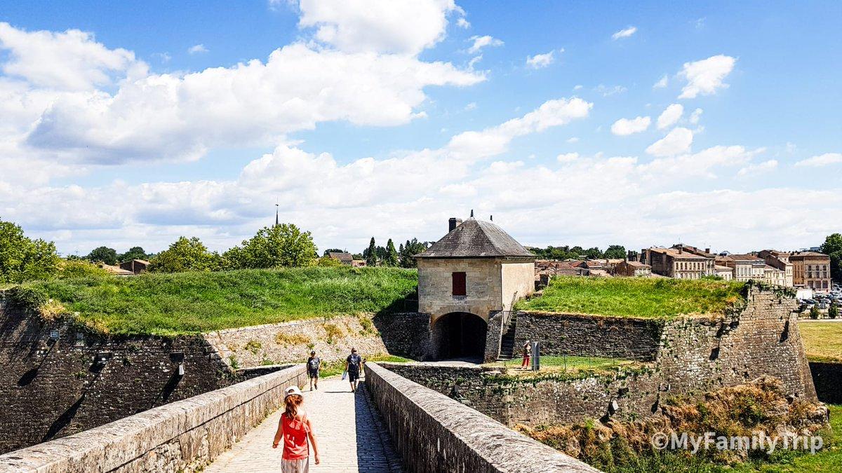 Détour par la citadelle de Blaye. 🤩🤩🤩 #familytravel #MagnifiqueFrance