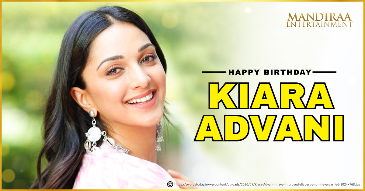 Happy Birthday to the upbeat and super talented @advani_kiara! Wishing you a year filled with luck and success! #MandiraaEntertainment #HBDKiaraAdvani #HappyBirthdayKiaraAdvani #KiaraAdvani #MEWishesYou