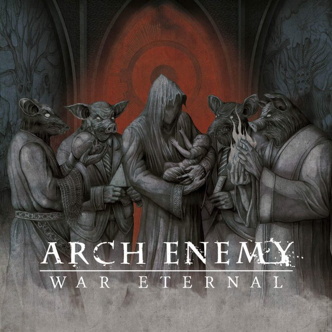 Never Forgive, Never Forget from War Eternal by Arch Enemy  Happy Birthday, Alissa White-Gluz