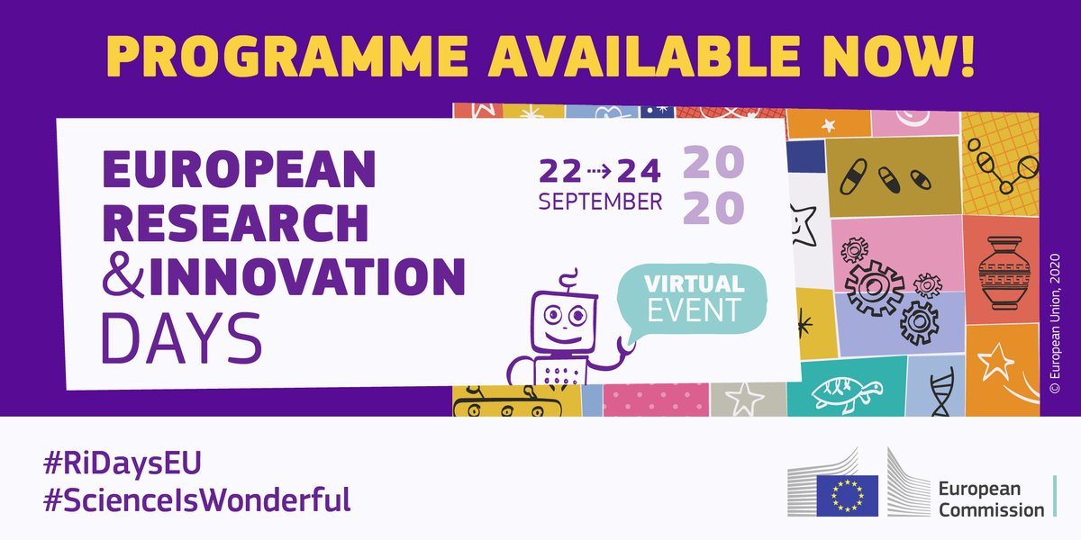 Check out this exciting online event bringing stakeholders together to shape future EU research and innovation policy #ScienceIsWonderful