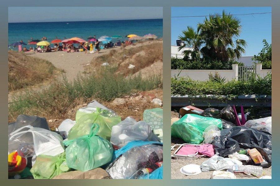 Lizzano,abbandono di rifiuti sulle spiagge:sindaco scrive in Procura #comunijonici #ambiente #lizzano #cosmopolis_media  https://t.co/Rw2bKITW3M https://t.co/tP1vtqkb6k