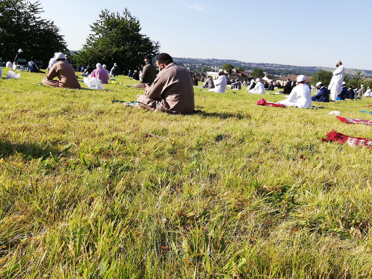 Eid Mubarak from Masjid e Umar  #fridaymorning #عيد_الاضحى #EidMubarak #EidAladha2020 #eidlockdown https://t.co/Pw4Ec9hV4M