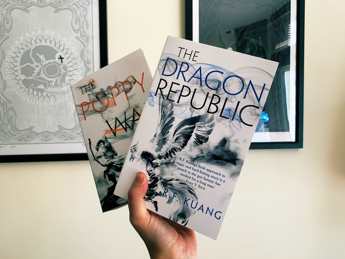 Fearsome siblings! The Dragon Republic paperback swoops down next week. Are you ready for this sequel?* *No, no you aren't.