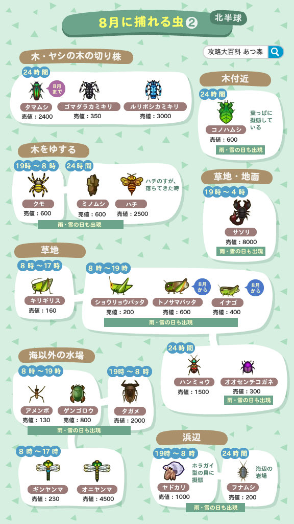 あつ 森 貝 の 値段