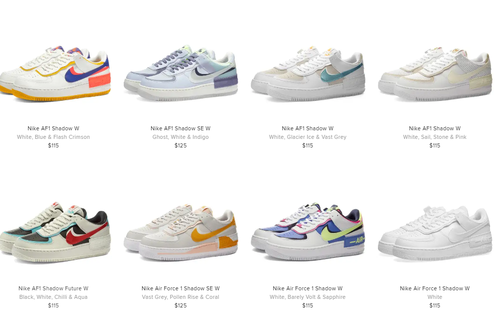 Ballin Sneaks On Twitter Many Wmns Nike Air Force 1 Shadow Sizes Still Available On End Us Https T Co Zzagih17ta Uk Https T Co Ige1b6rpqf Nike air force 1 shadow se ghost world indigo. many wmns nike air force 1 shadow sizes