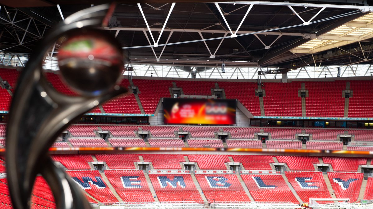 2 years 2 go until the home of football, Wembley Stadium, hosts the final of #WEURO2022 🏆⚽️ Who's excited? 🙋 Sign up now to get all the latest info on tickets: TheFA.com/WEURO2022