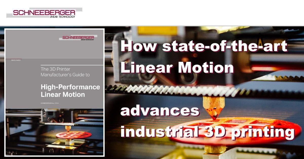 Dramatically advance your industrial 3D printing with state-of-the-art high-performance linear motion: https://t.co/wIEHjLN0Kx   #linearmotion #3Dprinting #3dmanufacturing #3dprint #whitepapers #additivemanufacturing https://t.co/Y3EDCglndp