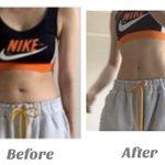 1回太ってから筋肉をつけて一か月後⇒メリハリボディの完成!