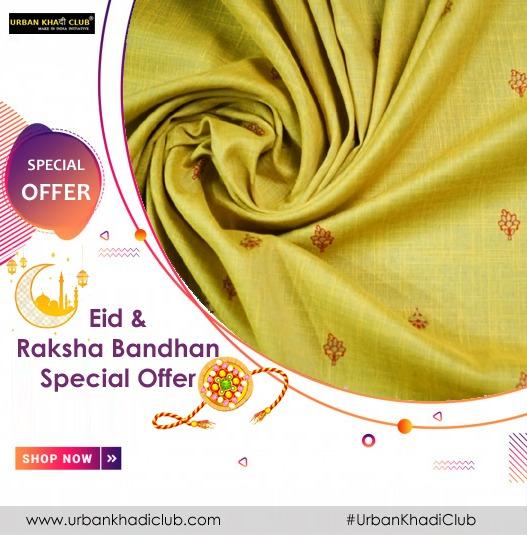 Explore our wide range of collections of urban khadi club. Get Rakhi & Eid special offer: https://t.co/qs2mDTUUkU  #urbakhadiclub #dressmaterials #indianfabrics #rakhioffer #eidoffer #IndianMade #urbankhadi #UrbanKhadiFabrics #india #newdelhi https://t.co/InXDRY9XWl