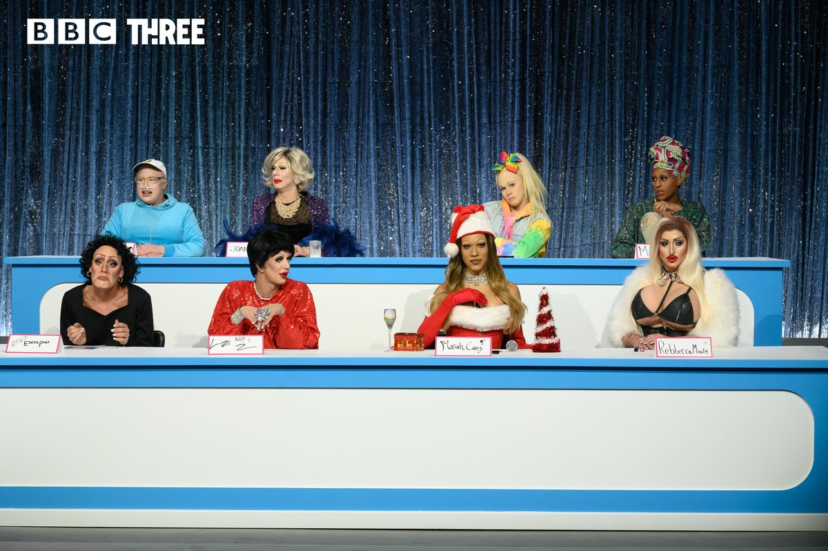 Its #CanadasDragRaces first ever Snatch Game 🌟 Can you guess who everyone is?