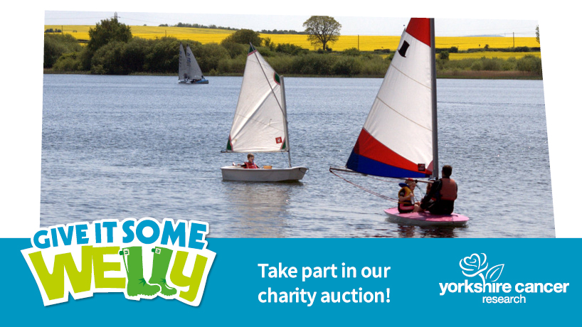 Our #GiveItSomeWelly auction ends this Sunday.   👉   There are some genuinely amazing prizes to bid on, from family days out to sporting memorabilia and works of art.  Help fund research that saves lives, right here in Yorkshire.