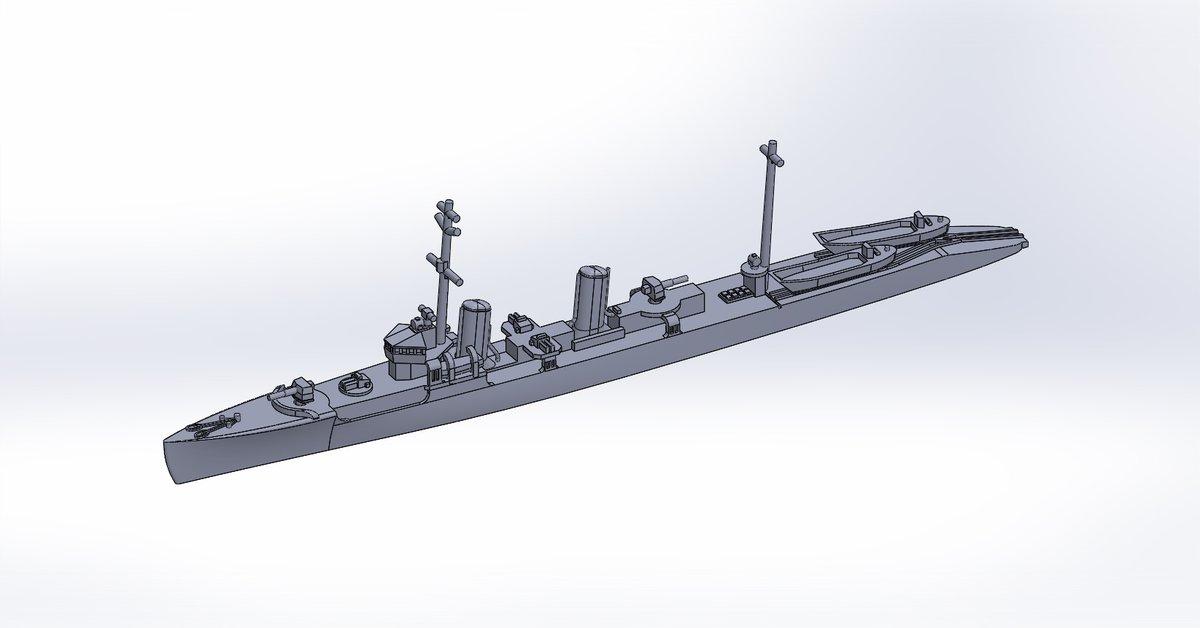 """夕凪㌠ on Twitter: """"1/2000 第一号型哨戒艇 原型製作記 - DAMEYA@1 ..."""