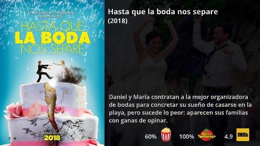 Uživatel Netflix Novedades Na Twitteru Hasta Que La Boda Nos Separe 2018 Diana Bovio Gustavo Egelhaaf Héctor Holten Comedia Https T Co Bvudrf2f11 Https T Co Q3ydiglwsi