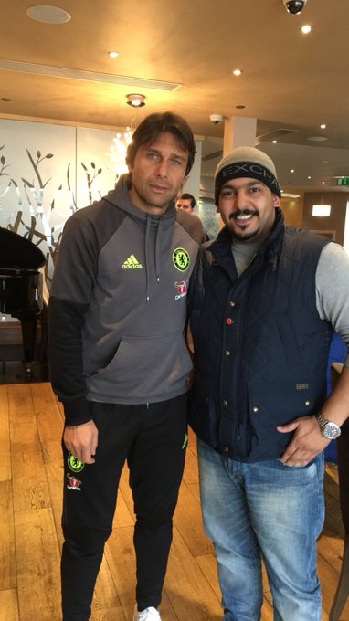 Happy birthday To our former boss ANTONIO CONTE enjoy your day boss