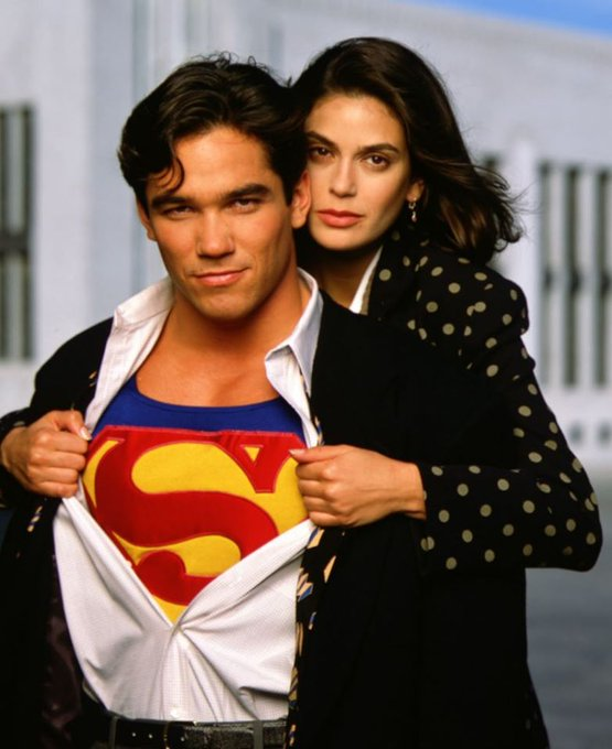 Happy Birthday to Dean Cain who turns 54 today! Pictured here with Teri Hatcher on Lois and Clark.
