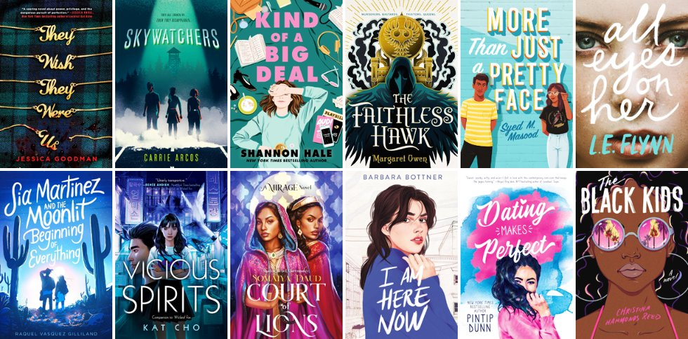 Get your TBR lists and wallets ready - Augusts YA edition of Hot Off The Press is here, featuring 55 young adult books being published in August 2020! popgoesthereader.com/hot-off-the-pr…
