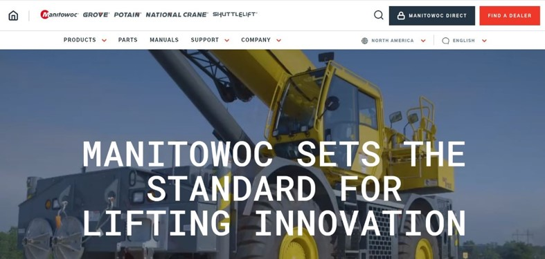 We got a new look, and much more! Manitowoc launched a fully refurbished website that makes it easier to explore our many lines of cranes and the services that complement them.  https://t.co/9UX6iIp2FN   #ManitowocCranes #Potain #GroveCranes #NationalCrane #Shuttlelift #NewLook https://t.co/OqJ9sQmbQA